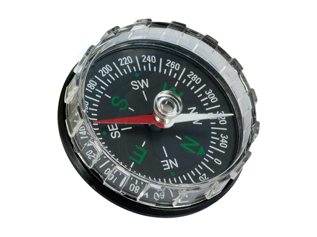 Small Plastic Compass For Aiming With Satellite Dish