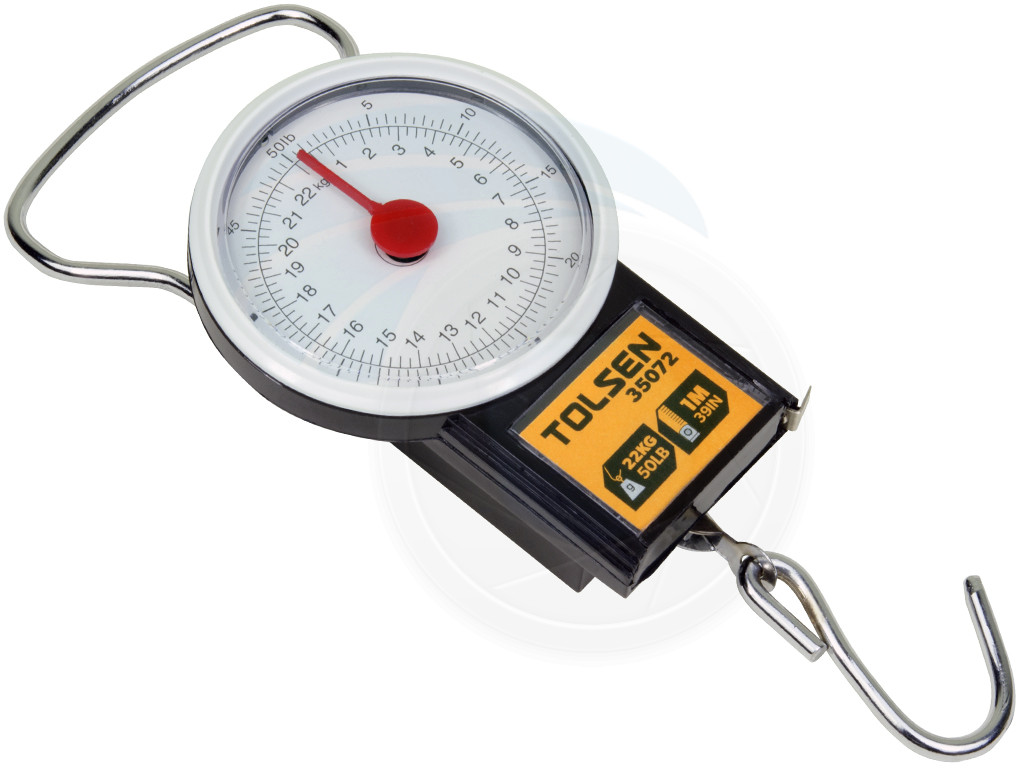50lbs 22kg portable travel baggage luggage bag scale measuring tape