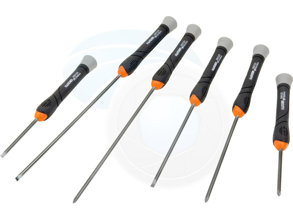 Details about  /6pcs Precision Long Reach Phillips Slotted Magnetized Screwdriver Set