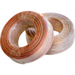 100ft 16ga Speaker Home Theater Car Sound DC Transparent Cable Wire