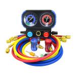 AC Manifold Gauge Set R1234yf Refrigerant Charging HVAC Diagnostic Set