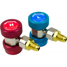 Quick Coupler Connector Adapters AC Air Conditioning R134a Refrigerant