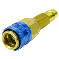 R1234yf R12 to R134a Low Side Quick Coupler Hose Adapter Valve Fitting