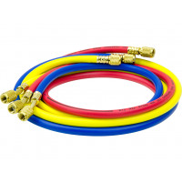 1/4 SAE 5ft AC Charging Hoses Tube Refrigerant R134a Air Conditioning