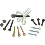 15pcs Harmonic Balancer Gear Pulley Steering Wheel Yoke Puller Crank
