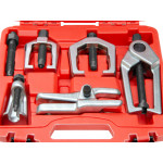 5pcs Front End Service Tool Set Separate Pitman Arm Tie Rod End Puller