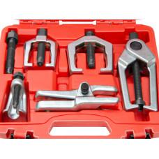 5pcs Front End Service Tool Set Separate Pitman Arm Tie Rod End Puller