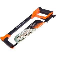 12inch Front Grip Handle Aluminum Hack Saw Handsaw Blade Dual Handles