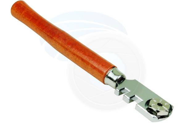 130mm 6 Blade Glass Mirror Windows Shelves Cutter Toll Wooden Handle