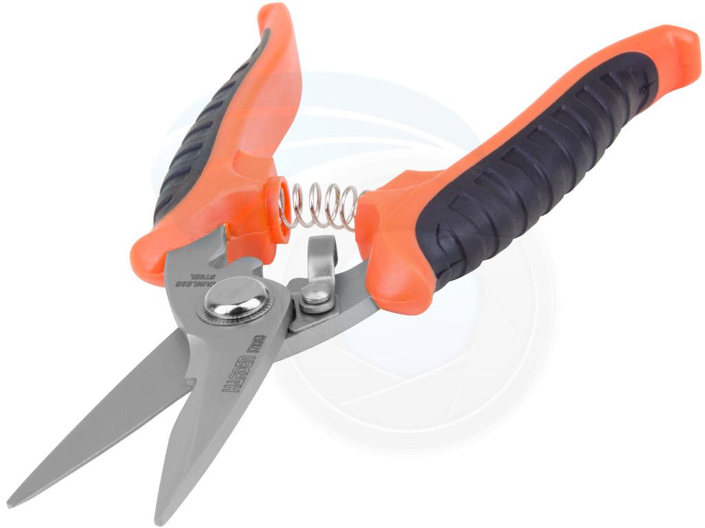 180mm Multi-Purpose Heavy Duty Sharp Cutting Scissors Leather ...