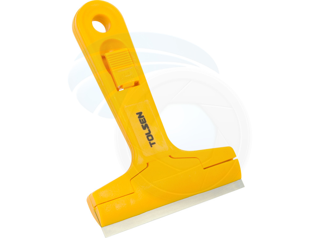 """Triumph 6/"""" MK2 Angled Scraper for Window Film Tint Glass Paint Tile Cleaning"""
