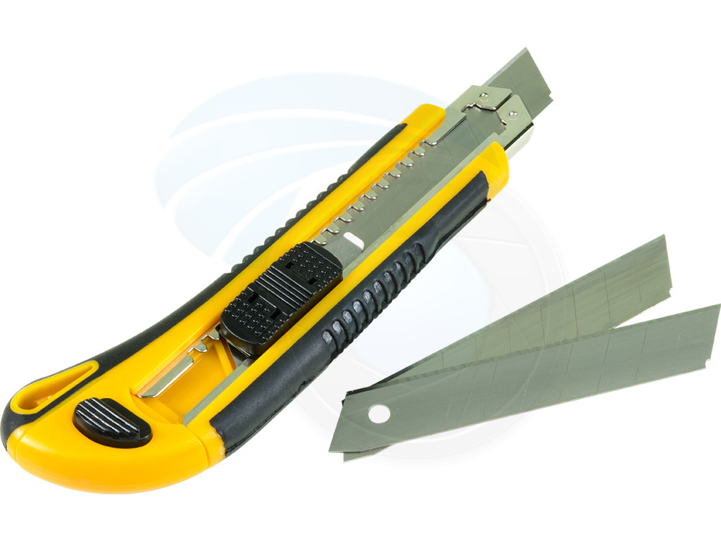 cutting knives 18mm snap off sharp blade cutter shippers carpenter knife
