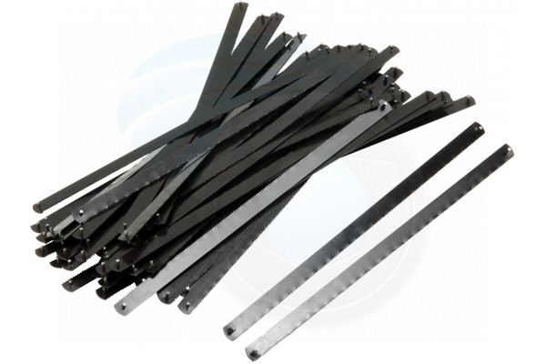 Pack 50pcs 6inch Mini Hacksaw Replacement Blades Small Hack Saw Frame