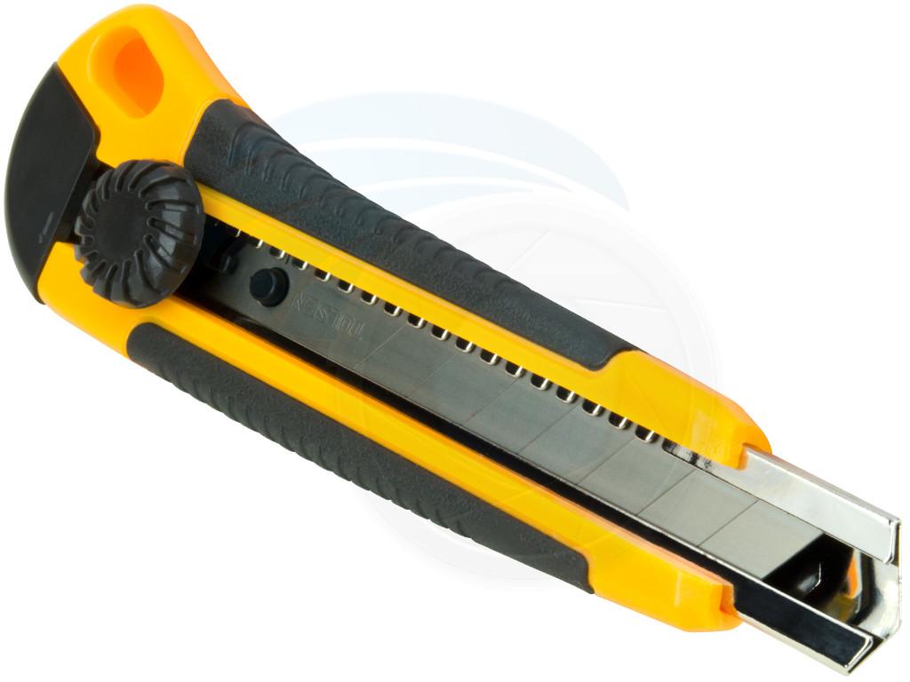 Utility Knife Ratchet Retractable Snap Off Razor Blade Box