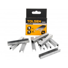 Tolsen 3/8 Heavy Duty Stapler Rustproof 1000pc Staples 0.7x10mm Staple