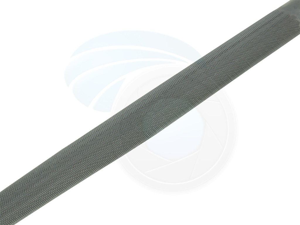 10in Half Round Second Cut File TPR Soft Handle Wood Woodwork Plastic Wall Board