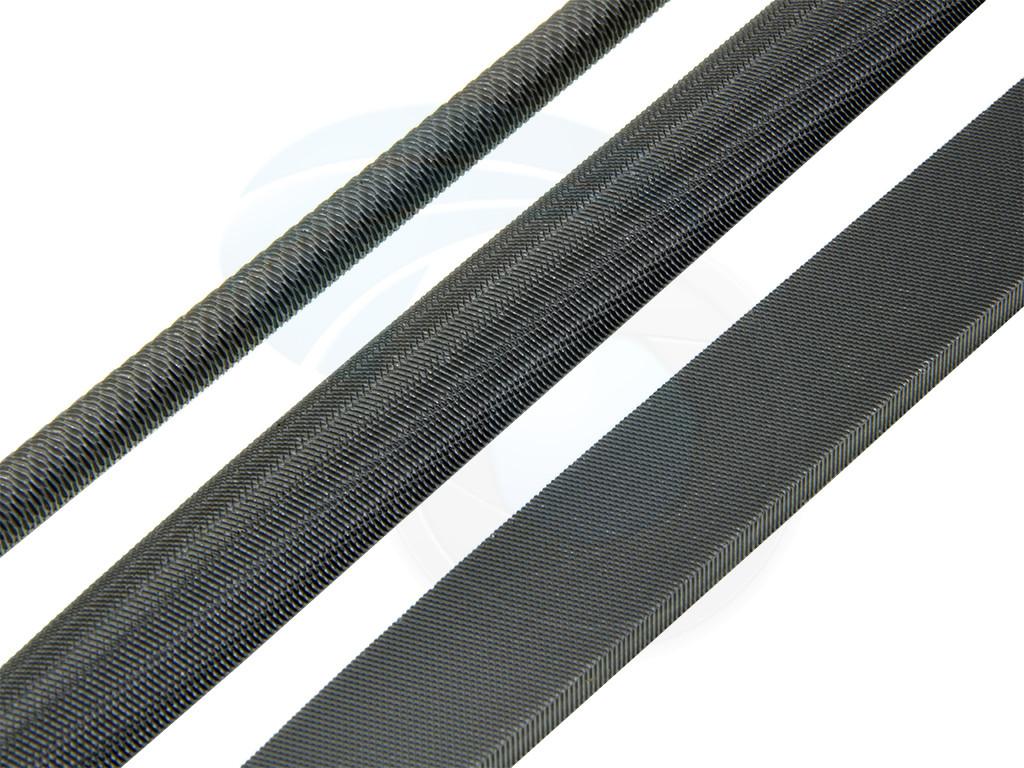 3pcs T12 Carbon Steel Rasp File Set Grinder Half Round