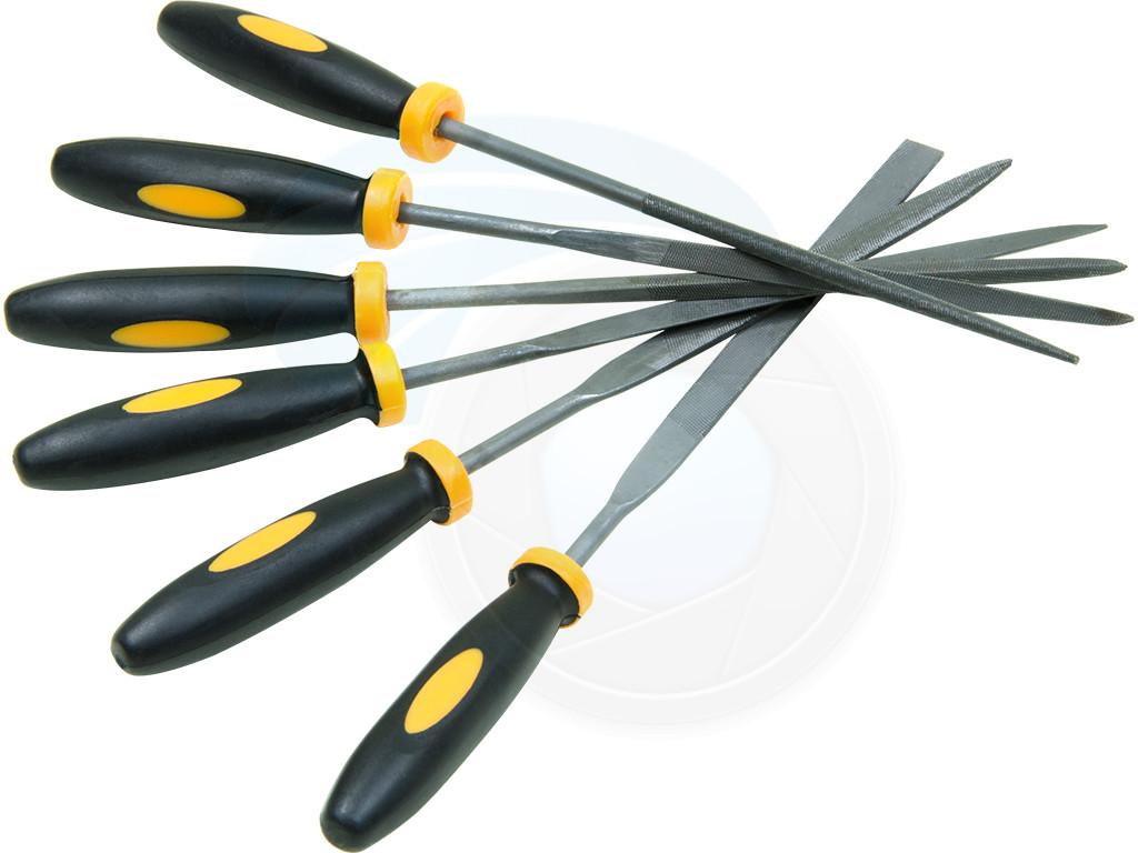 Hand Tools : 6pcs Mini Files Metal Filing Rasp Needle File ...