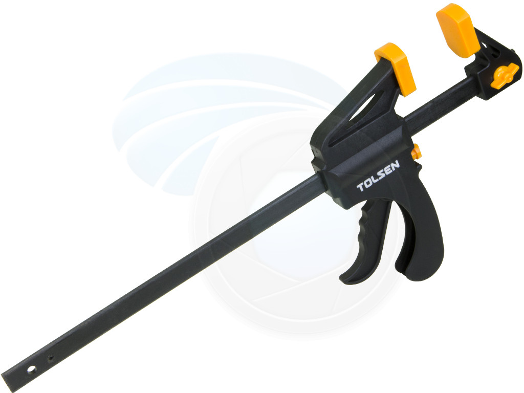 details about 12inch ratcheting bar locking clamps ratchet spreader squeeze  woodwork