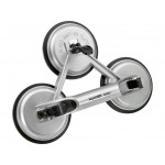 Heavy Duty Aluminum 3 Suction Cup Glass Handle Lifter Puller Gripper