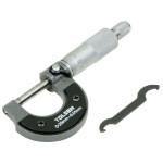0-25mm External Metric Gauge Micrometer Machinist Measuring Tool Case