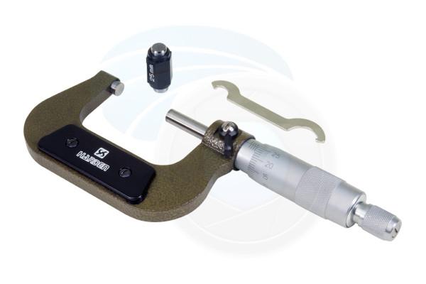 25-50mm External Metric Gauge Micrometer Machinist Measuring Tool Case