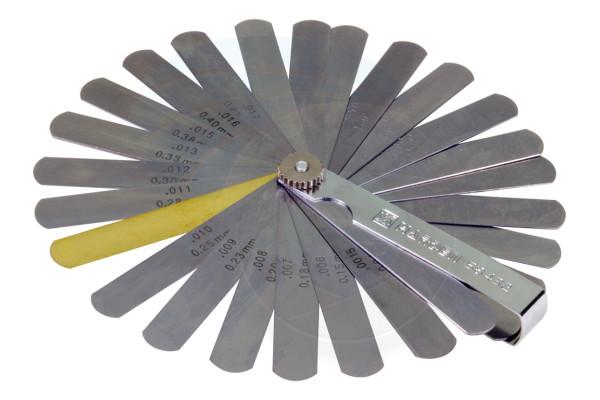 32Pcs 0.04mm-0.88mm Blade Gap Feeler Gauge Metric & SAE Dual Reading
