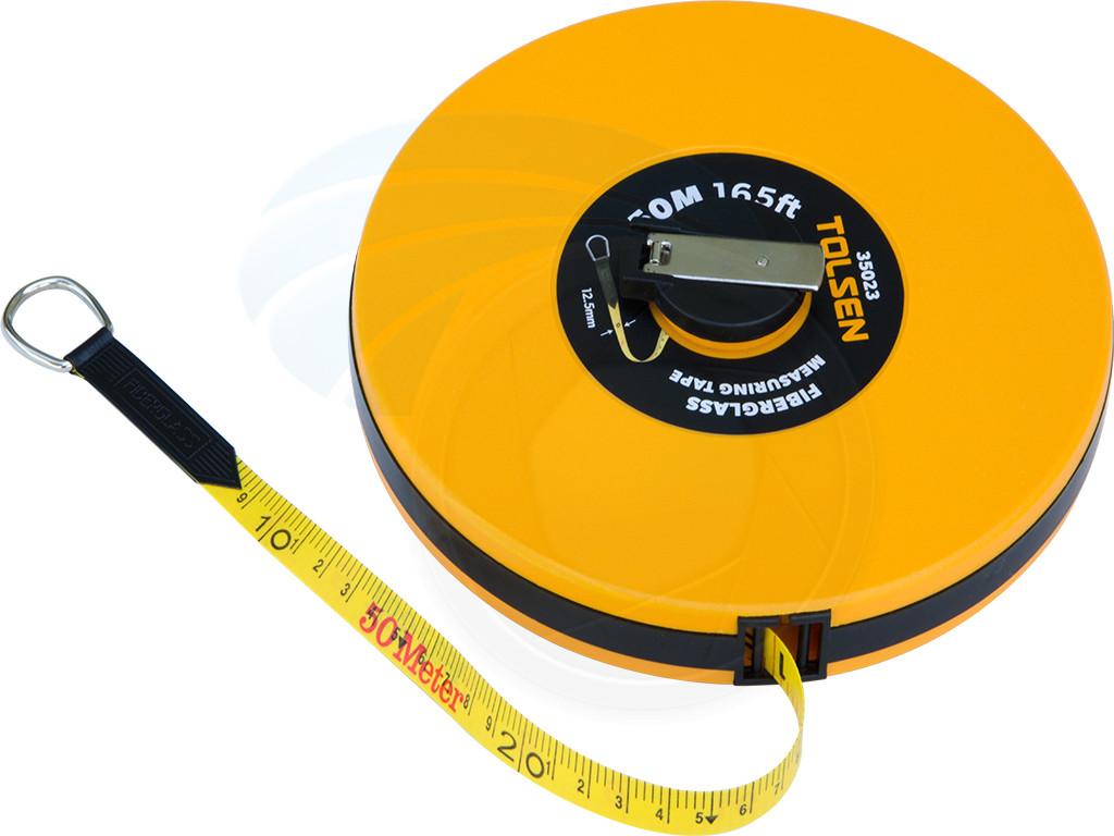 20m Surveyor Tape Measure Fibreglass Metric Sae Tapes Quality Builders