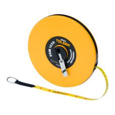 50M 165FT Constriction Imperial Metric Fiberglass Measuring Tape Reel