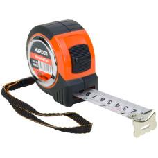 5M 16.5FT Carpenter Rubber Heavy Duty Measuring Tape Metric Imperial