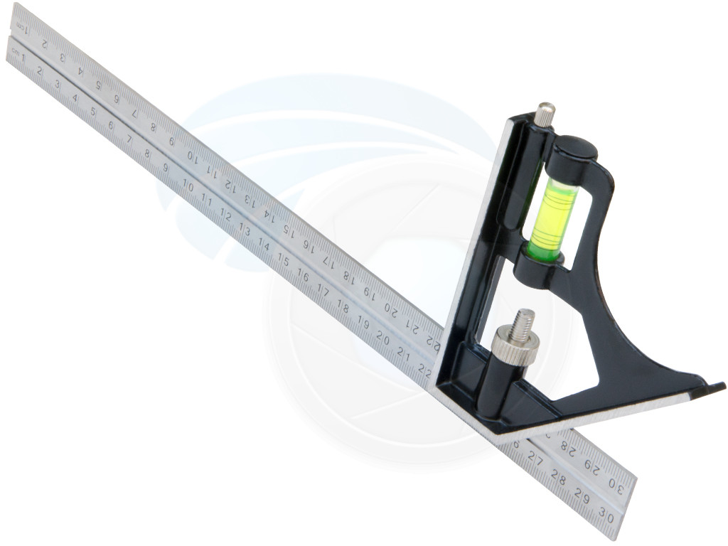 Heavy Duty Stainless Steel Metric 300mm Combination Square