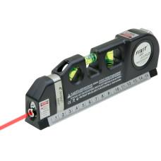 Laser Level Pro3 Horizontal Vertical 8FT 250cm Measuring Tape Ruler