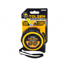 Tolsen 10M 33FT Nylon Coated Heavy Duty Measuring Tape Metric Imperial