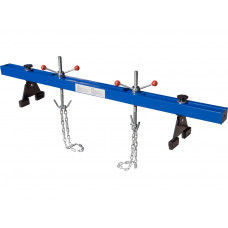 1100lbs Adjustable Engine Support Bar 2 Points Lift Holder Hoist Hooks