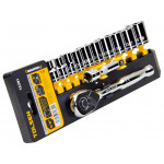 12pcs 3/8 Drive Hand Ratchet Wrench 3in Extension Imperial Socket Set