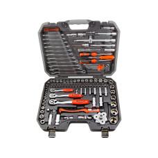 132pcs Ratchet Combination Wrench Metric Bit Socket Hex Torx Tool Set