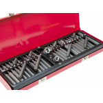 54pcs Socket Set 1/2 3/8 Drive Hex Security Torx XZN Spline Star Bits