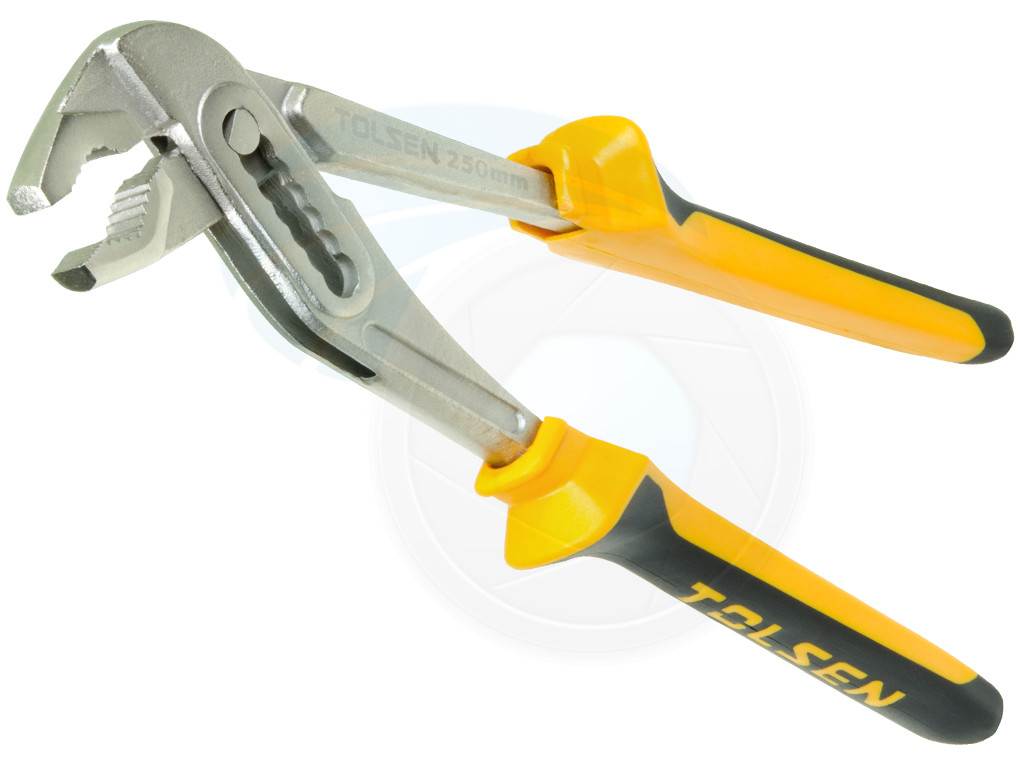 adjustable pliers wrench. 10inch (250mm) multi grip adjustable water pump wrench slim jaw pliers