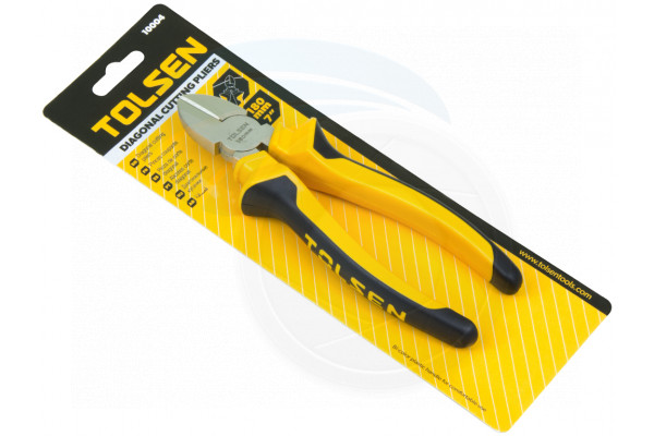 7in 180mm Diagonal Side Wire Cutting Snip Pliers Insulated Soft Grips