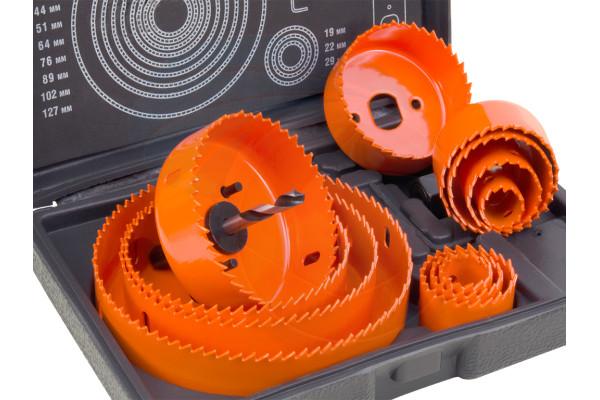 16pcs Hole Saw Pilot Drill Bit Kits for Wood Drywall Plywood Plastic
