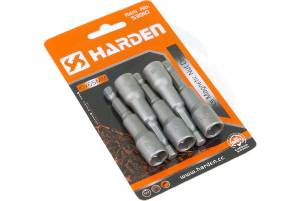 5pcs ¼ Hex 10mm 65mm Professional Metric Socket Magnetic Nut Drivers