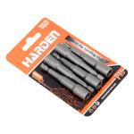5pcs 1/4 Hex 6mm 65mm Professional Metric Socket Magnetic Nut Driver