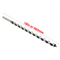 5/8 by 18inch Auger Drill Bit 16x460mm for Wood Studs Joists Drilling