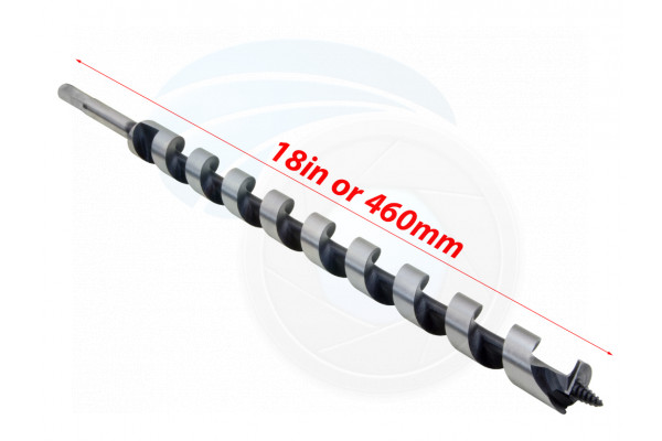 15/16 18inch Auger Drill Bit 24x460mm for Wood Studs Joists Drilling