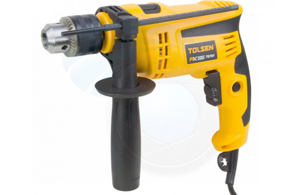 1/2inch Chuck Corded Electric Impact Hammer Drill 120V 6A with Handle