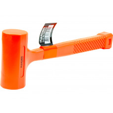 16oz Dead-Blow Orange Rubber Mallet Hammer Auto Repair Woodwork Shop