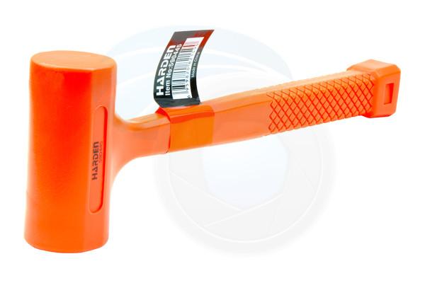 16oz Dead-Blow Orange Rubber Mallet Hammer Auto Repair Woodwork Shop
