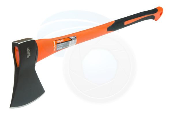 Carbon Steel 3.3lb 1.5kg Hatchet Axe Fiberglass Body Rubberized Handle