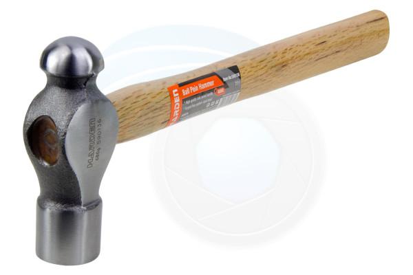 Heavy Duty 24oz Ball Pein Peen Hammer Oak Wooden Untislip Handle Grip