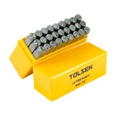 Steel Punch Stamp Die Set Metal Tool Letters (A-Z) 27-Piece Set 6mm
